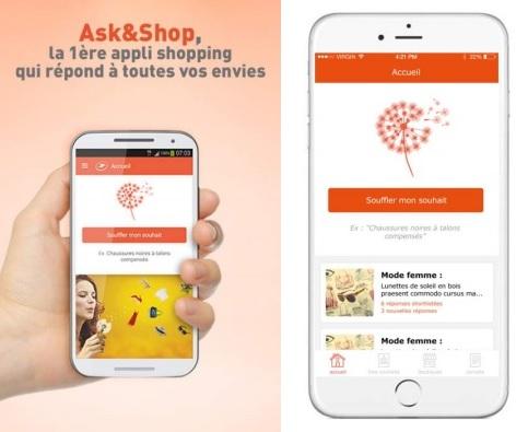 Ask&Shop Application - Mode Motion