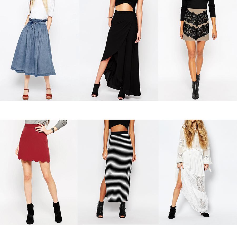 Les différentes façons de porter la jupe ! Mode Motion