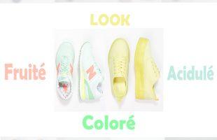Je veux des baskets colorées pour l'été !