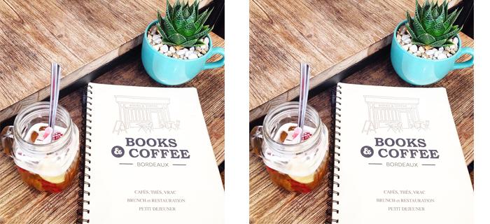 BORDEAUX – Books & Coffee