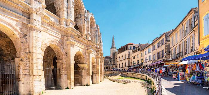 Un week-end en famille à Arles