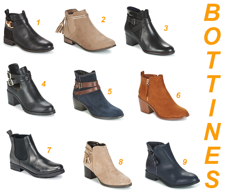shopping bottines