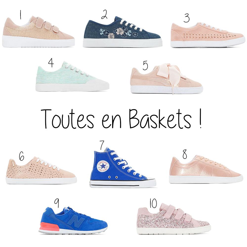 shopping baskets printemps
